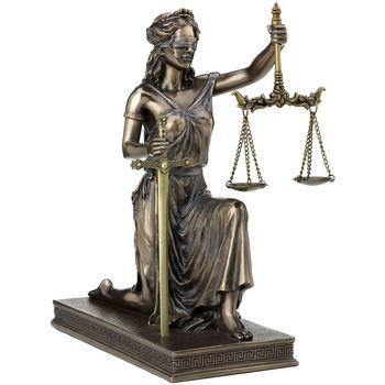 Casa Statuette e figurine Signes Grimalt Bilancia E Spada Della Giustizia Dorado