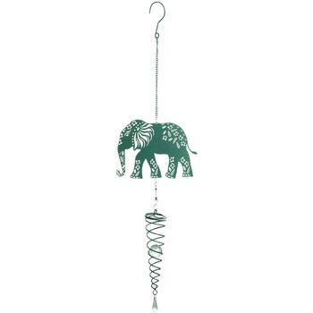 Casa Decorazioni festive Signes Grimalt Ciondolo Elefante Verde