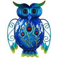 Casa Statuette e figurine Signes Grimalt Lampada Da Parete Piccola Gufo Azul