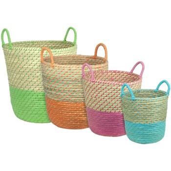 Casa Cestini, scatole e cestini Signes Grimalt Cestini 4 Colori Set 4U Multicolor