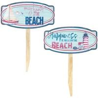 Casa Dipinti, tele Signes Grimalt Ornamento Da Spiaggia 2 Diversi Azul