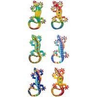 Casa Statuette e figurine Signes Grimalt Magnetic Lagartos 6 Dif. Multicolor