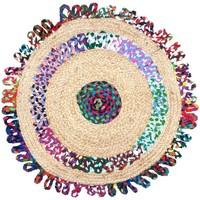 Casa Tappeti Signes Grimalt Colori Tappeto Di Iuta Multicolor