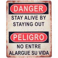 Casa Dipinti, tele Signes Grimalt Piastra A Muro Pericolo / Pericolo Multicolor