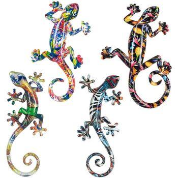 Casa Statuette e figurine Signes Grimalt Lagartos Piccolo Resina 4U Multicolor