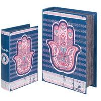 Casa Bauli, scatole di immagazzinaggio Signes Grimalt Scatole Di Fatima 2U Mano Prenota Azul