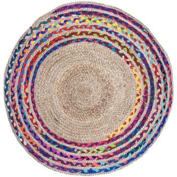 Casa Tappeti Signes Grimalt Tappeto Intrecciato In Juta Multicolor