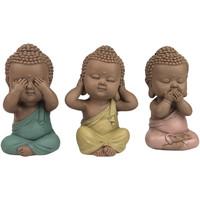 Casa Statuette e figurine Signes Grimalt Linda Buddha Set 3 Unità Multicolor