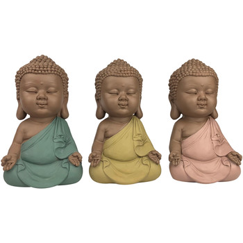 Casa Statuette e figurine Signes Grimalt Linda Buddha 3 Settembre Unità Multicolor