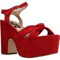 Scarpe Donna Sandali Refresh 069723r Rosso