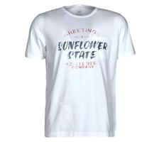 Abbigliamento Uomo T-shirt maniche corte Lee SS POSTER TEE Bianco
