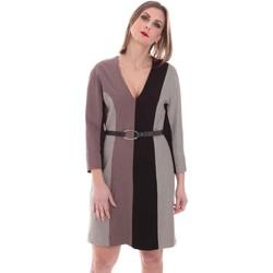 Abbigliamento Donna Abiti corti Nenette 26BB-ARAS Grigio