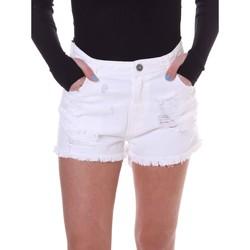 Abbigliamento Donna Shorts / Bermuda Fornarina BE172B92D877KM Bianco