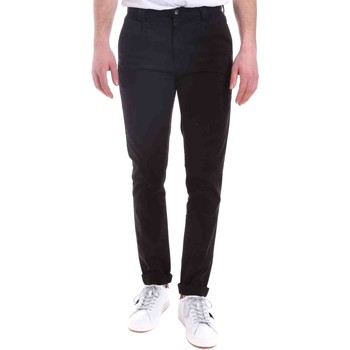 Abbigliamento Uomo Chino Gaudi 021GU25014 Nero