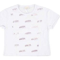 Abbigliamento Bambina T-shirt maniche corte Dimensione Danza T-SHIRT OVER M/M BIELAST GIRL Bianco