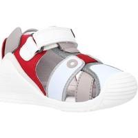 Scarpe Bambino Sandali Biomecanics 212144 Rosso