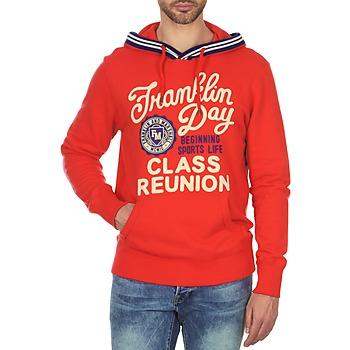Abbigliamento Uomo Felpe Franklin & Marshall GOSFORD Rosso