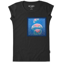 Abbigliamento Donna T-shirt maniche corte Ko Samui Tailors Jelly Bandana T-Shirt Nero Nero