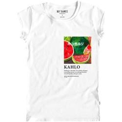 Abbigliamento Donna T-shirt maniche corte Ko Samui Tailors Watermelon Art T-Shirt Bianco Bianco
