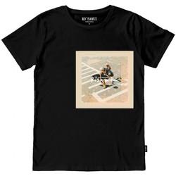 Abbigliamento Uomo T-shirt maniche corte Ko Samui Tailors Seaboard Bandana T-Shirt Nero Nero