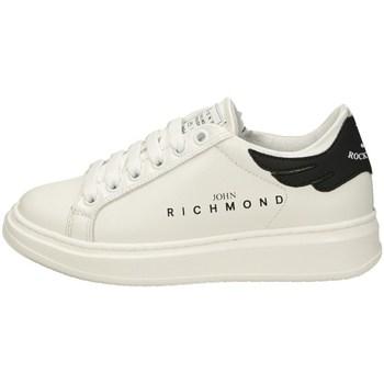 Scarpe Bambino Sneakers basse John Richmond 11307 A Bianco
