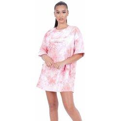 Abbigliamento Donna Abiti corti Sixth June Robe femme  Tie and dye rose