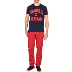 Abbigliamento Uomo Chino Franklin & Marshall GLADSTONE Rosso