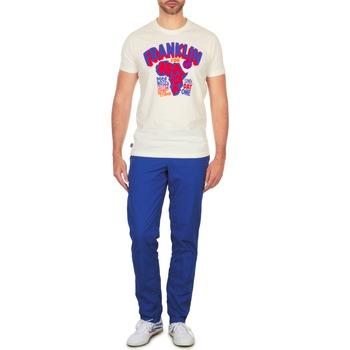 Abbigliamento Uomo Chino Franklin & Marshall GLADSTONE Blu