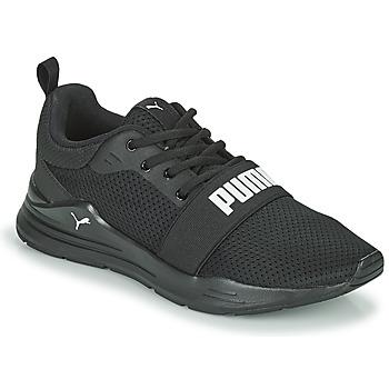 Scarpe Bambino Sneakers basse Puma WIRED JR Nero