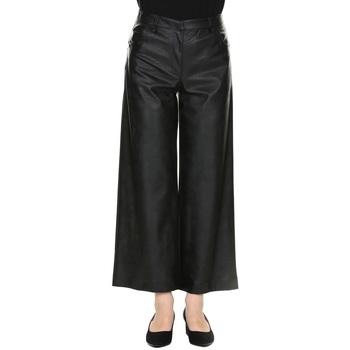 Abbigliamento Donna Pantaloni Manila Grace P098EU MD500- NERO Nero