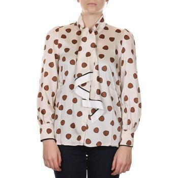 Abbigliamento Donna Camicie Emme Marella 51161709000 - 001 BURRO Bianco