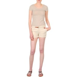 Abbigliamento Donna Shorts / Bermuda Franklin & Marshall MACQUARIE Beige