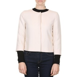 Abbigliamento Donna Cappotti Emme Marella 50460509000 - 001 ECRU Bianco