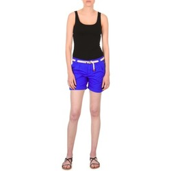Abbigliamento Donna Shorts / Bermuda Franklin & Marshall CALOUNDRA Blu