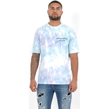 Abbigliamento Uomo Polo maniche lunghe Sixth June T-shirt  Custom Tie Dye noir