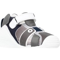 Scarpe Bambina Sandali Biomecanics 212144 Grigio