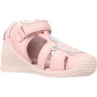 Scarpe Bambina Sandali Biomecanics 212109 Rosa