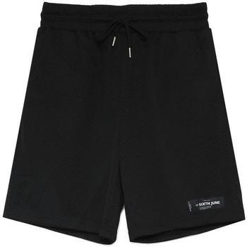 Abbigliamento Uomo Shorts / Bermuda Sixth June Short  Mesh Logo noir