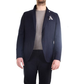 Abbigliamento Uomo Giacche / Blazer Manuel Ritz 2532G2718M 183632 Giacca Uomo blu blu
