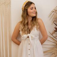 Abbigliamento Donna Abiti lunghi Céleste CAMOMILLE Bianco