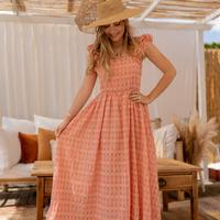 Abbigliamento Donna Abiti lunghi Céleste AURORE Rosa
