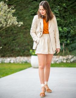 Abbigliamento Donna Giacche / Blazer Céleste ALIZE Beige