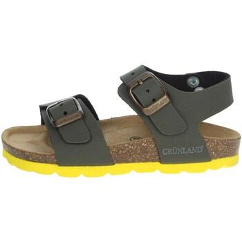 Fuxia Grunland Junior Sandalo Luce con Fibbie Metal Free Luce SB1318