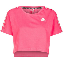 Abbigliamento Donna T-shirt maniche corte Kappa 303WGQ0 Rosa