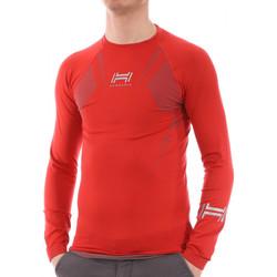 Abbigliamento Uomo T-shirts a maniche lunghe Hungaria H-15TOUYY000 Rosso