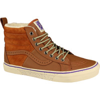 Scarpe Donna Sneakers alte Vans SK8-Hi 46 MTE Marrone