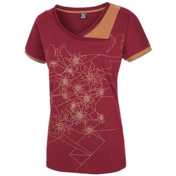 Abbigliamento Donna T-shirt maniche corte Salewa 251661651 Carminio