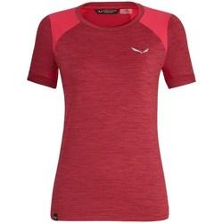 Abbigliamento Donna T-shirt maniche corte Salewa 271251830 Carminio