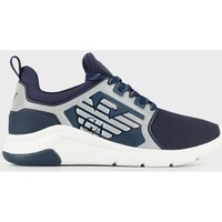 Scarpe Sneakers basse Ea7 Emporio Armani A-Racer Reflex Blu