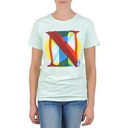 Abbigliamento Donna T-shirt maniche corte Nixon PACIFIC Verde